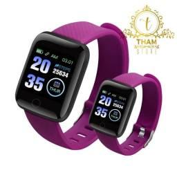 Smartwatch D13 Relogio Inteligente Feminino e Masculino