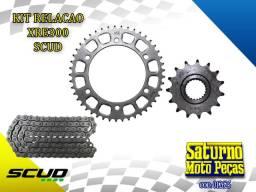 Kit Relação XRE300 Honda Scud Promoção Entrega (014620) (zerado)