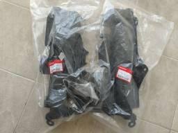 Par Defletor Radiador Honda Civic 12 13 14 15 Original Novo