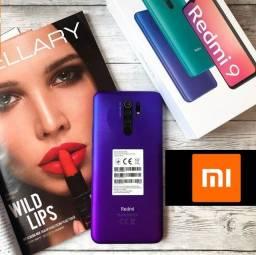 Baixou!!! Novo Xiaomi Redmi 9 4GB Ram/64GB Purple Quad-Cam R$1219 av ou 12x R$112 no CC!
