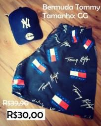 Bermuda Tommy Tamanho GG