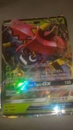 Carta de pokémon tapu bulu GX. Vendo por 300