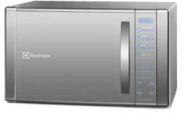 Microondas Electrolux, espelhado, função grill, 220v