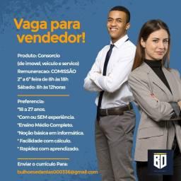Vaga Para Consultor de Vendas (Consórcio)