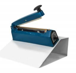 Seladora Manual de Plástico com Suporte para Geladinho Cetro 10cm