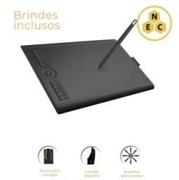 Mesa Digitalizadora Gaomon M10k Tablet Com Anel Touch + Luva E Sacola De Brinde