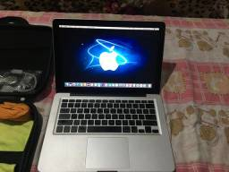 Macbook Pro 13 processador core 2 Duo 2,66 GHz 8gb SSD 240GB ,Mid2010 e acessórios