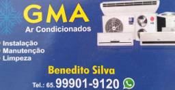 Instalacao, Manuntencao e Limpeza Ar Condicionados