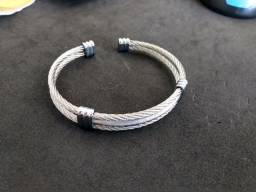 Bracelete Cordas de Aço 2x1