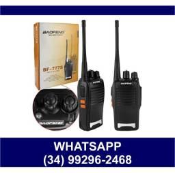 Entrega Grátis * Rádio Comunicador Sem Fio Recarregável