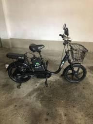 Bicicleta elétrica E Bike Lev aro 18