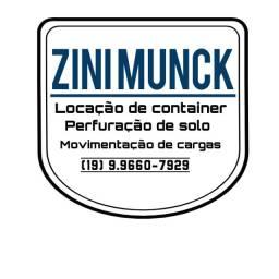 Zinimunck locação de container
