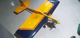 Aeromodelo funfly 3d da greatplanes novinho motor os max servos ótimos