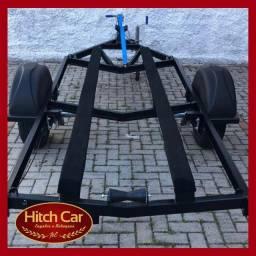 Reboque seu Jet Ski em segurança - Com Carretinhas Hitch Car - Homologada com NF