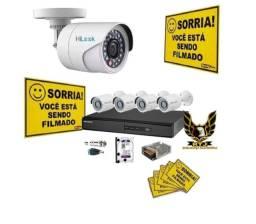 Promoção em Câmeras de Segurança Residencial e Comercial:Monitore pelo seu celular!
