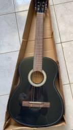violão vogga vca202n bk