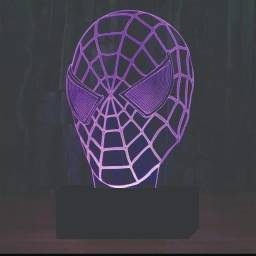 Linda Luminária homem aranha