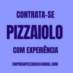Vaga de trabalho para pizzaiolo com experiência