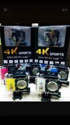 Câmera GoPro Sports 4k Ultra Hd Prova D'água Wifi 1080p