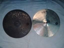 """Hi hat 15"""" Domene Cymbals"""