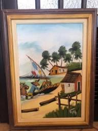 Quadro pintura nordeste