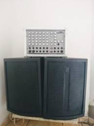 Cabecote NCR 250w + caixas