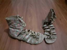 Sandália Gladiadora - entrego