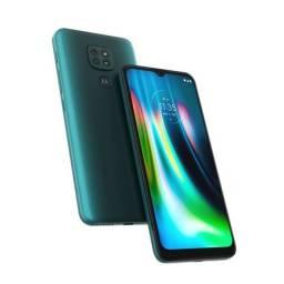 Motorola G9 Play 64gb Verde Lacrado E Nota Fiscal