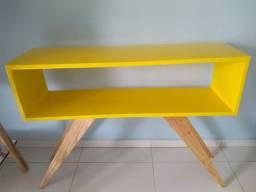 Aparador laqueado - Amarelo (Novo)