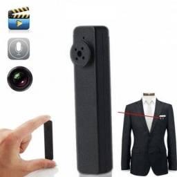 Mini Câmera Botão Espião Video Fotos Memoria Interna 8gb