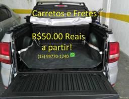Frete, Carreto a partir R$50,00 Reais