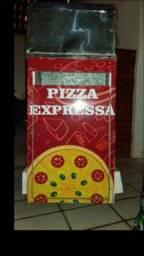Carrinho movel de pizza