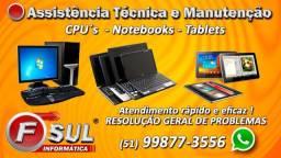 Assistência Técnica e Manutenção de Informática e Eletrônica