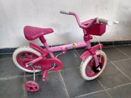Bicicleta infantil feminina rosa