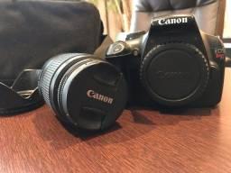 Canon T3 - 18-55 + Bolsa e fltros