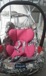 Combo : Bebê conforto burigoto, cadeira de alimentação galzerano e banheira rosa perolado.