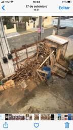 Doa-se restos de madeira