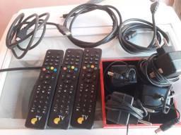 Cabo HDMI - Controle remoto OI TV - Fonte de alimentação 12V