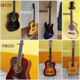Vendo Violão Guitarra e Cavaquinho. Parcelo