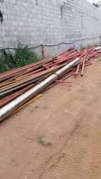 Tubos de aço novos, de 2a linha e usados
