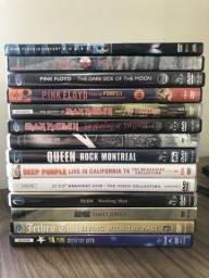 14 DVDs de Shows de Rock