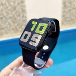 Smartwatch X7 faz e receber ligação, na promoção 180,00 nas cores preto, branco e rosa
