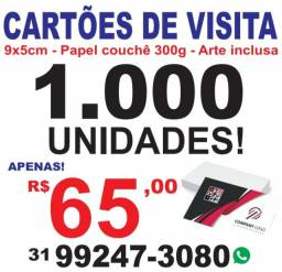Cartão de visita R$ 65,00
