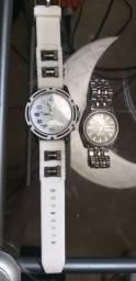 Relógios puma e seiko