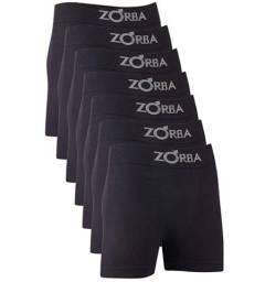 Kit 6 Cuecas sem Costura, Zorba, Masculino