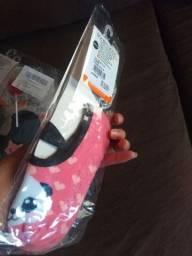 Kit com 4 pares de Meias sapatilhas Antiderrapante Infantil*