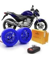 Alarme de moto com bluetooth