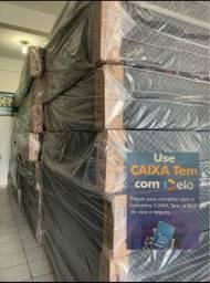 Cama Box com Colchão Conjugado