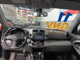 Toyota Rav4 GNV Automática Completa Couro Multimídia (troco e financio)