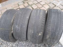 4 pneus 195/55/15